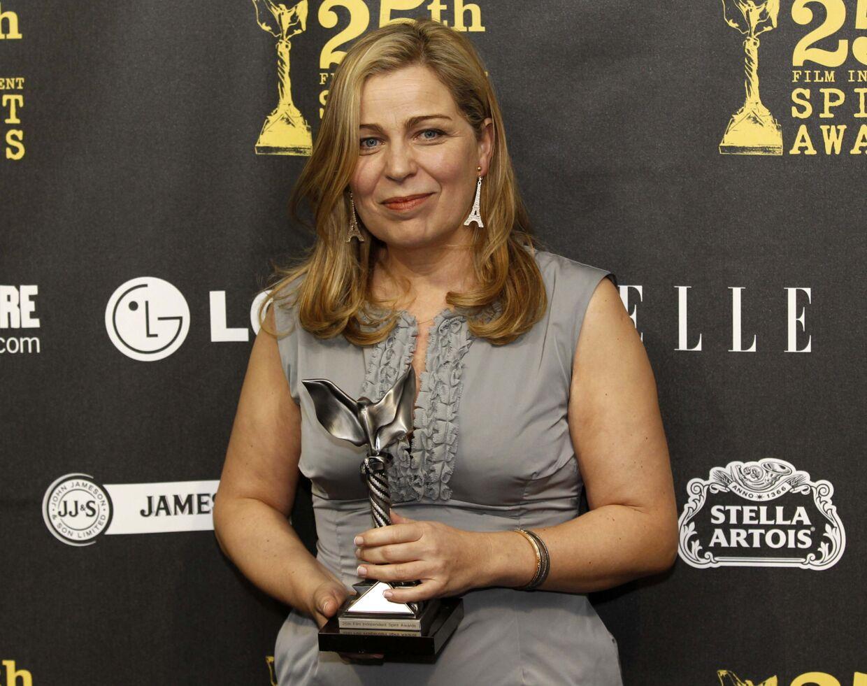 Filminstruktør Lone Scherfig har vundet et hav af priser. Også for hendes gennembrudsfilm 'Italiensk for begyndere'. B.T. kan dogi dag afsløre, at Scherfig stjal idéen til filmen.