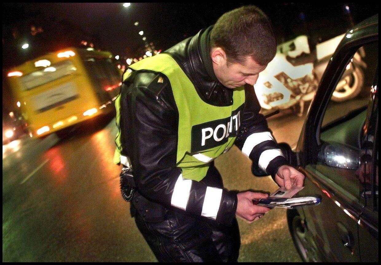 Politirazzia. ARKIVFOTO. (Foto: NILS MEILVANG/Scanpix 2012)