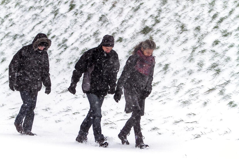 Vinteren er vendt tilbage til Danmark, og den bliver her lidt endnu! (Arkivfoto)