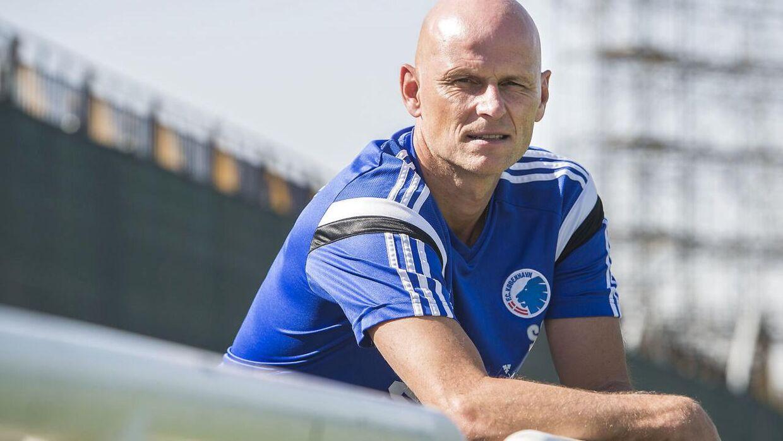 Ståle Solbakken, manager i FC København.