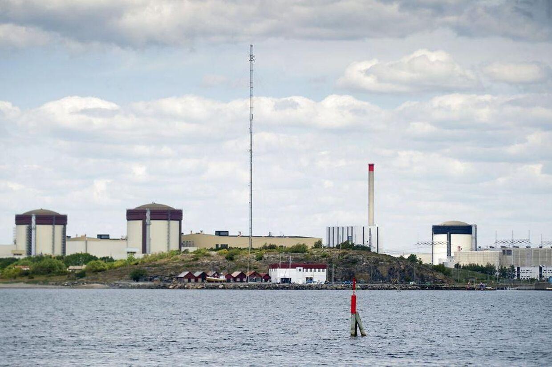 Sikkerheden på de svenske atomkraftværker er så dårligt, at det blot er et spørgsmål om tid, inden en katastrofe indtræffer, mener Greenpeace. Her ses værket Ringhals ved Göteborg.