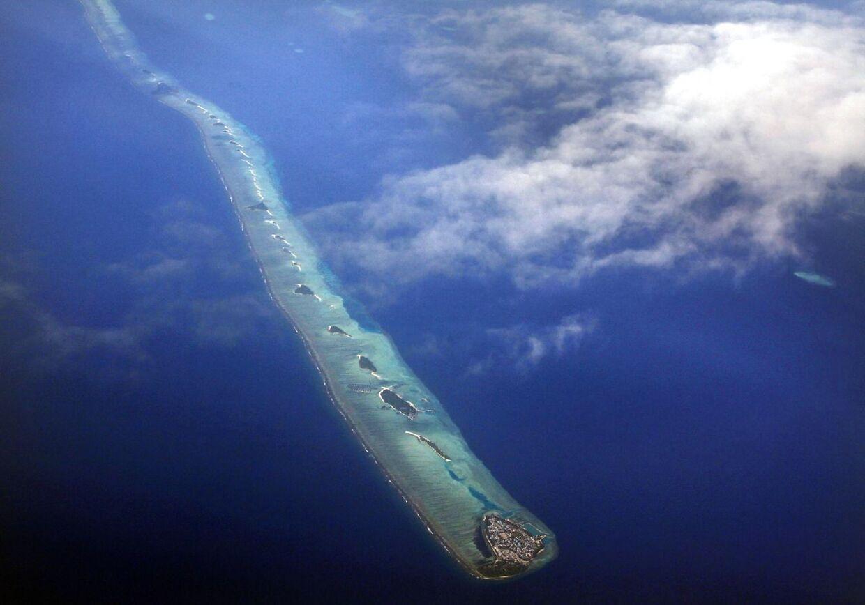 Maldiverne er et af de lande, der kan være glade for Danmarks klimaindsats. Stiger vandet meget mere end en meter eller to er landet nemlig akut fare for at blive udryddet.