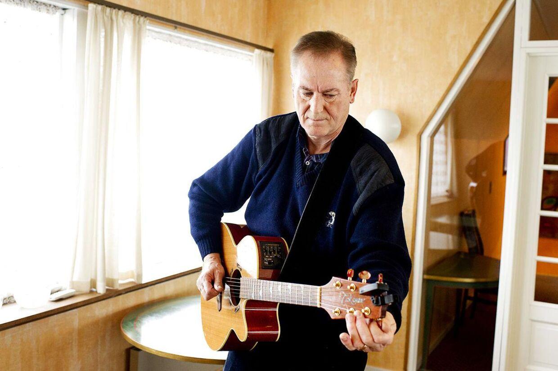 Musikeren Keld Heick har turneret med nu afdøde Thorkil Vesth. Arkivfoto.