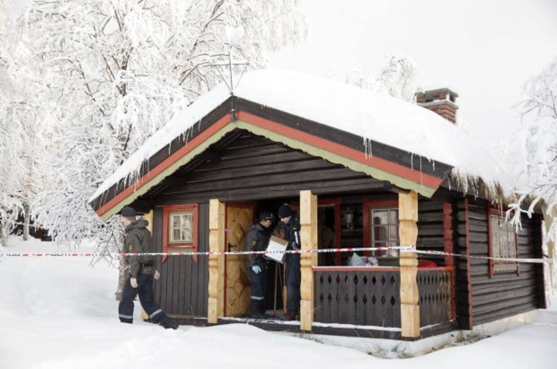 Her ses hytten, hvor den 13-årige pige blev fundet død af sult.