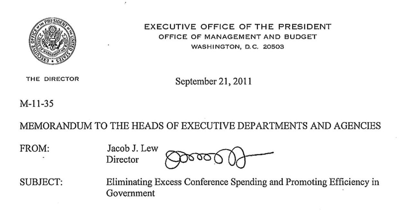 Sådan ser originalen ud: Jack Lew, ny finansminister i USA, har en underskrift lidt ud over det sædvanlige.