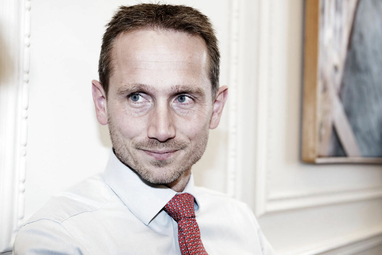 Her ses Kristian Jensen (V)