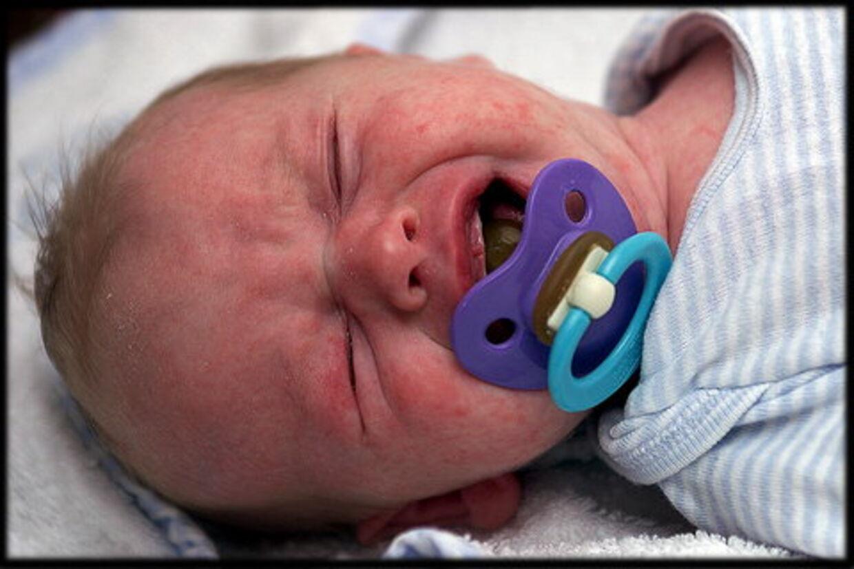 En baby, der lever sine første tre måneder i Vesten, kunne glæde sig til 90 minutters gråd per døgn, mens en asiatisk baby nøjes med en halv time.