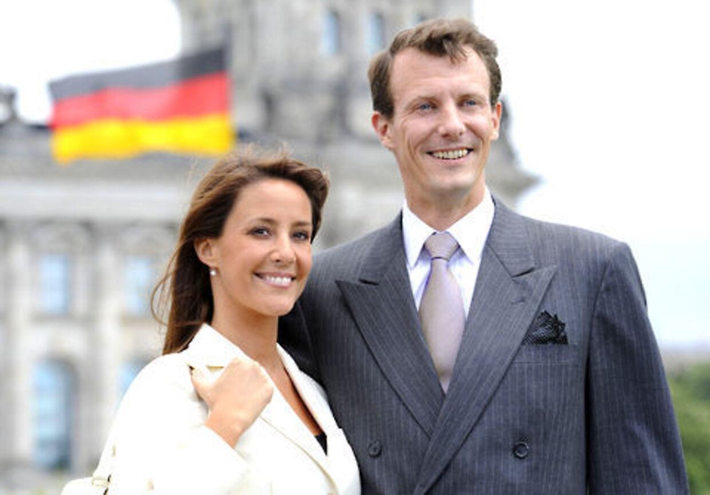 Prinseparret i Berlin. Foto: AFP.