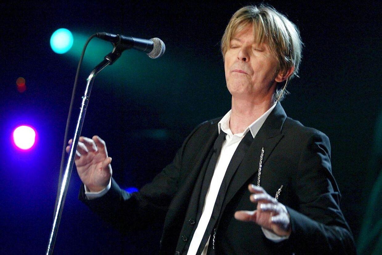 David Bowie døde 10. januar.