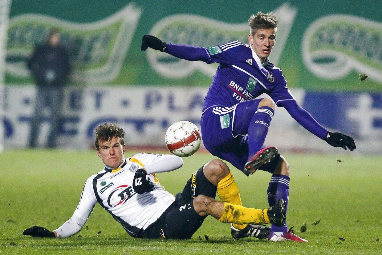 Alexander Scholz var fodboldtræt, men er nu på toppen af sin karriere.