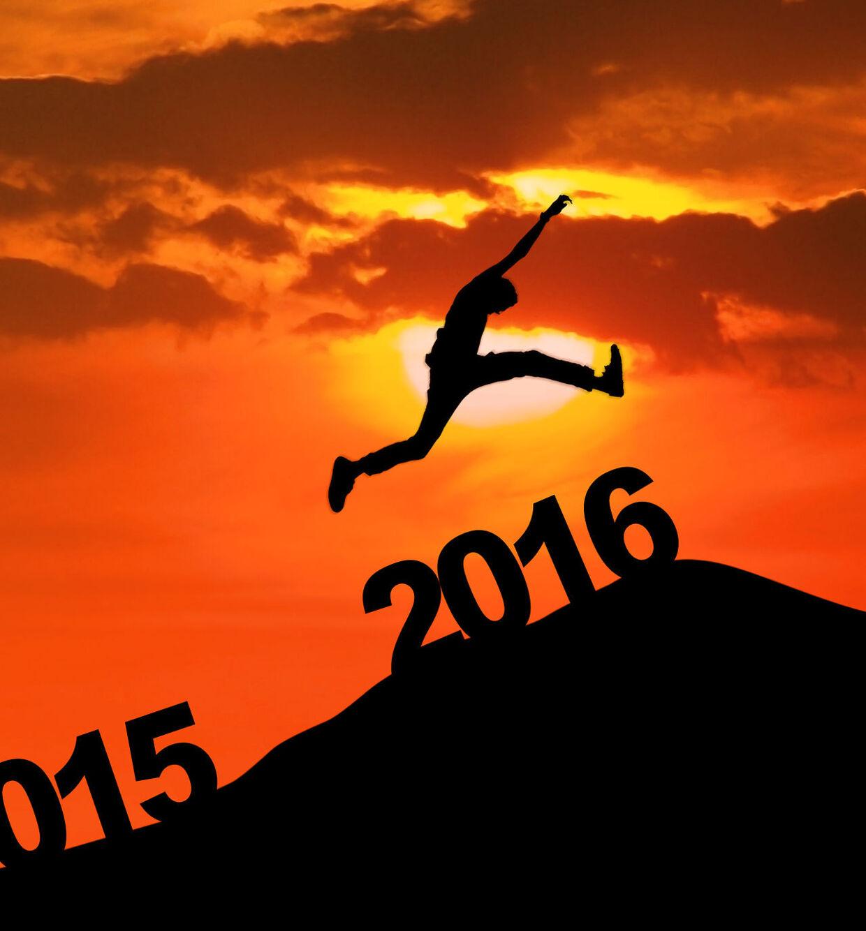 Hold nytårsforsættet og spring ind i det nye år med god samvittighed. Foto: Creativa Images
