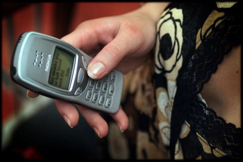 Bombarderede piger med krænkende sms'er. Foto: Thomas Sjørup