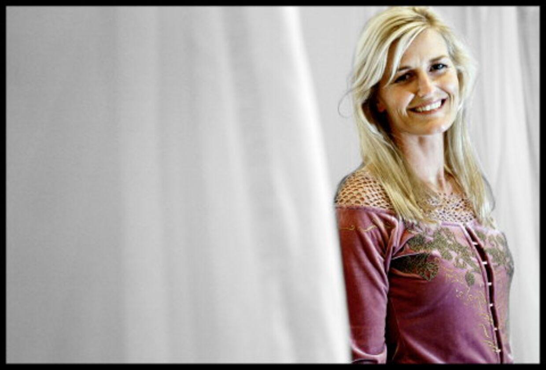 »Jeg savner adrenalinkicket,« indrømmer den tidligere håndboldstjerne, Rikke Solberg. Foto: Brian Rasmussen