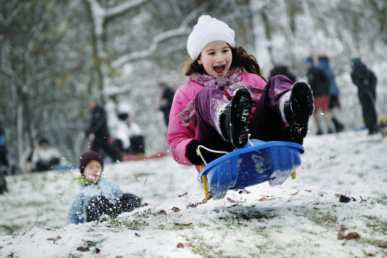 Uventede Kattegatbyger kaster mængder af sne over det københavnske.