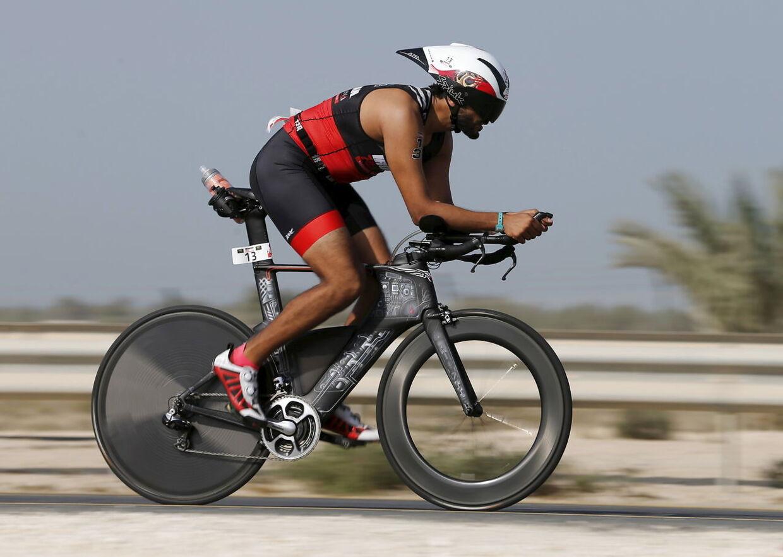 Nasser bin Hamad Al Khalifa dyrker selv triatlon.