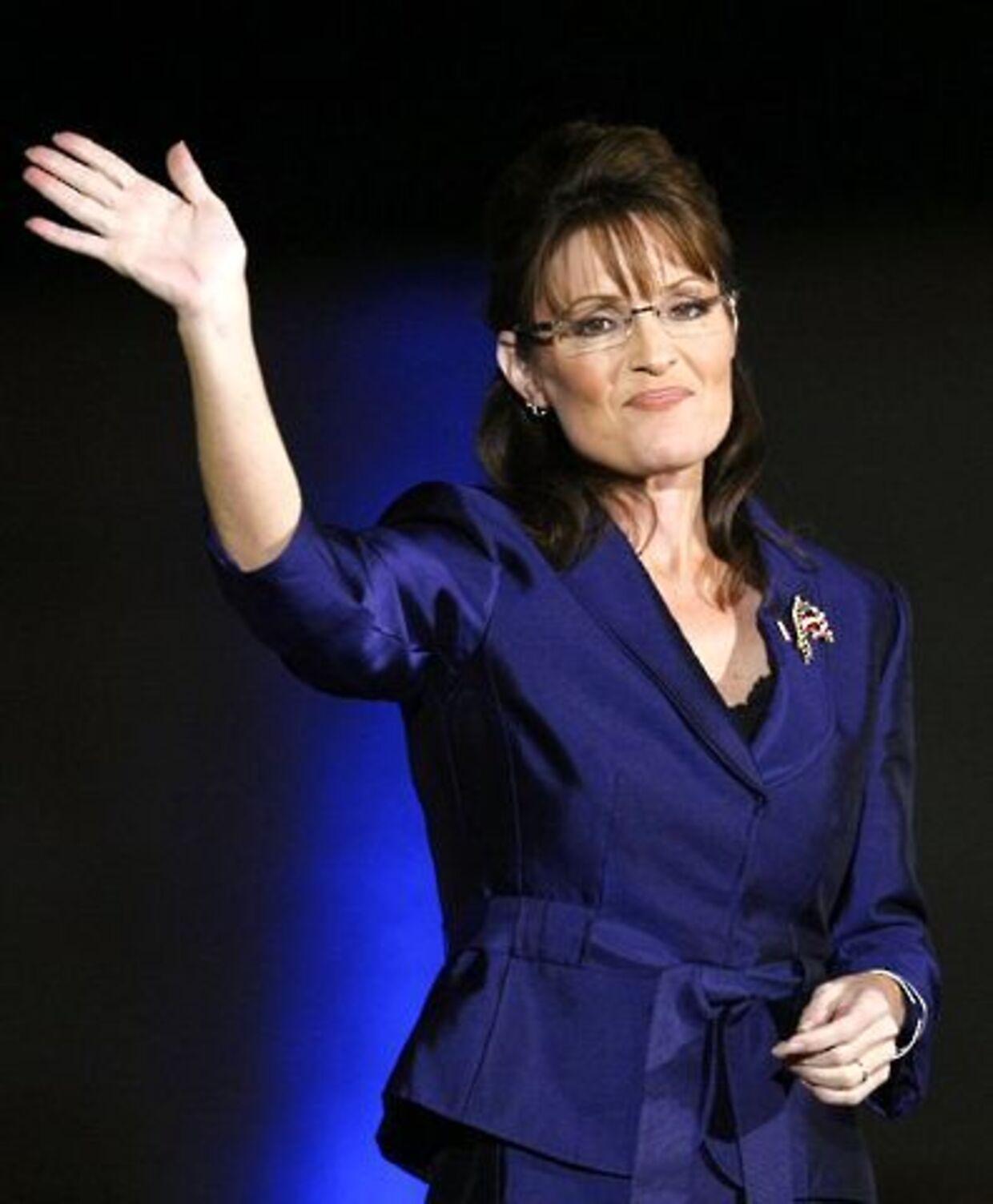 Sarah Palin lægger sin politiske karriere i Guds hænder. Hvis Gud vil have hende i senatet, så gør hun det.