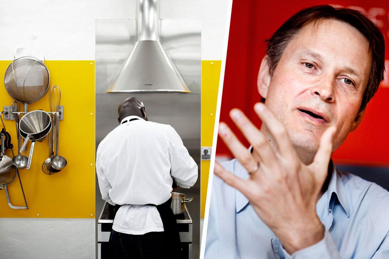 Claus Meyer tabte penge på det første kokkekursus for fanger. Nu kommer investeringen igen.