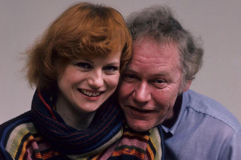 Skuespillerparret Lisbet Dahl og Preben Kaas.
