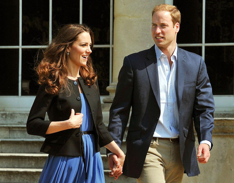 Nygifte Kate har ikke tænkt sig at vige fra sin mands side i de næste mange måneder.