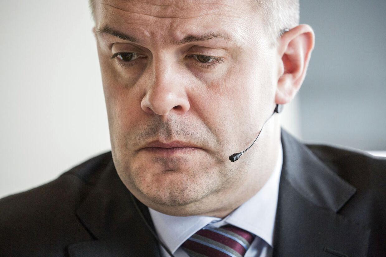 Finansminister Bjarne Corydon.
