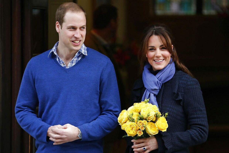 Da Kate forlod hospitalet efter sin graviditetsindlæggelse i december bar hun blåt. Og det er netop den farve, hun oftest ses i.