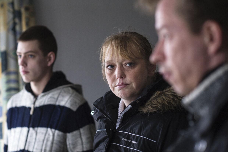 19-årige Thomas Mikkelsen Stralner forsvandt efter en bytur i Randers natten til 16. januar. For familien, der udover storebror Tommy, mor Karina og far Michael, tæller to yngre søstre, er uvisheden om deres søns og brors skæbne det værste, fortæller de. Foto: Bo Amstrup