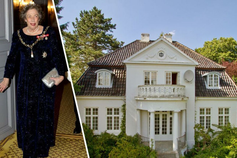 Prinsesse Elisabeth sælger ud af sine møbler fra huset i Holte