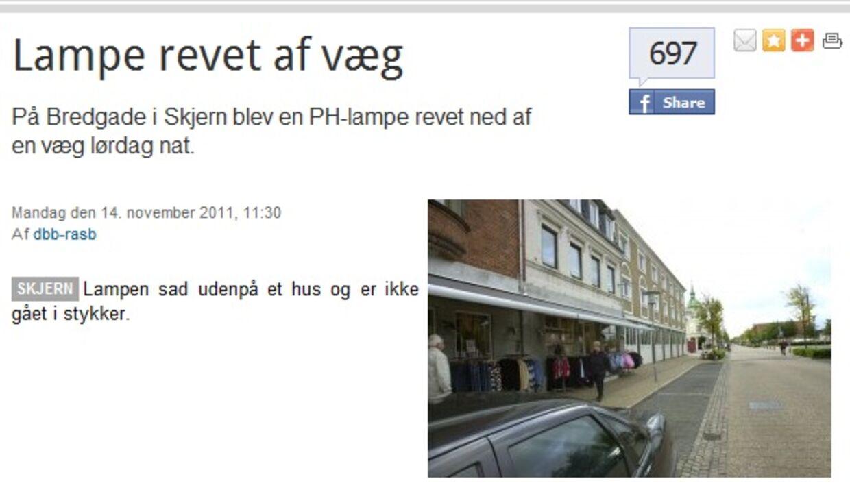 Artiklen fra Dagbladet Ringkøbing Skjern.