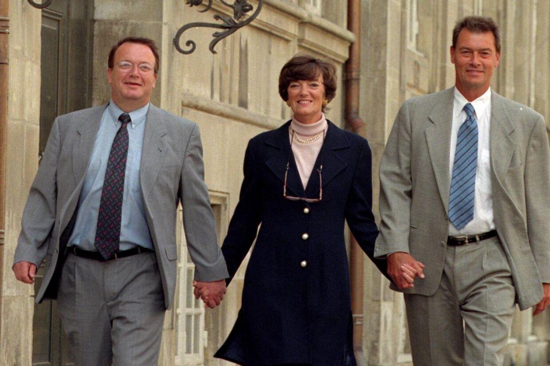 Jane Aamund sammen med sine to brødre Asger og Bjarke Aamund. Foto: Scanpix