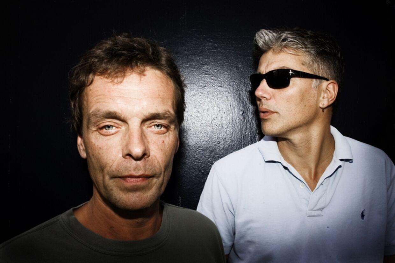 The Sandmen. Michael Rasmussen (trommer) og Allan Vegenfeldt (sang).