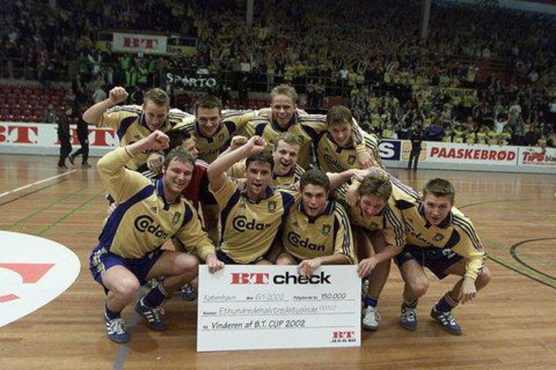 De glade vindere fra Brøndby. Foto: Bent K. Rasmussen
