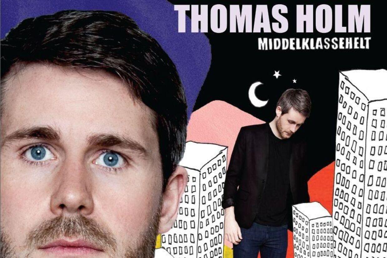 Lad dig ikke snyde af Thomas Holms tomme udtryk. Der er pop og masser af liv bag øjnene.