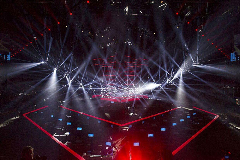 Præsentation af Eurovision scenen, der er blevet dyrere end forventet.