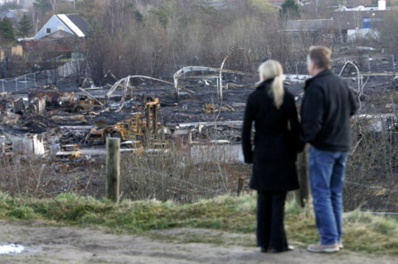 Både private og firmaer vil støtte familierne i Seest. <br>Foto: Claus Fisker