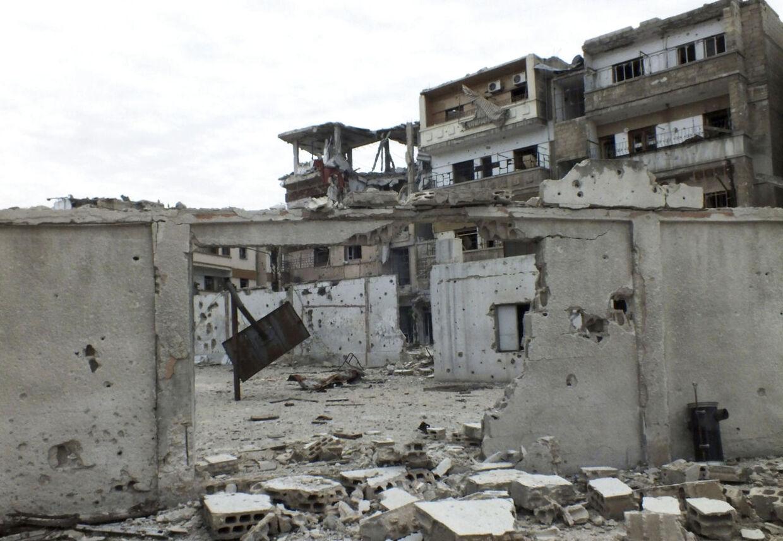 Syrien. Arkivfoto