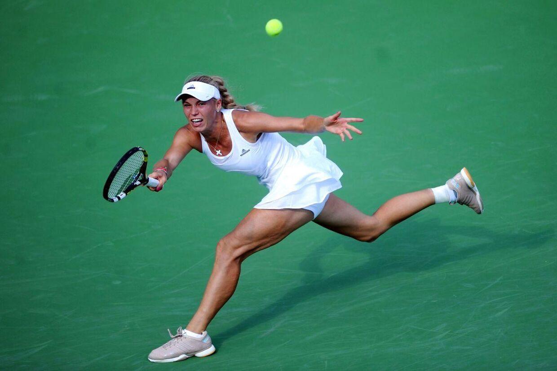 Caroline Wozniacki skal til efteråret løbe New York Marathon.