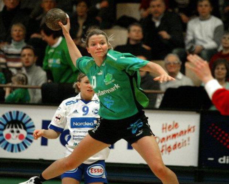 Christina Roslyng - endelig en realitet, hun rejser til Kolding. Foto: Henning Bagger