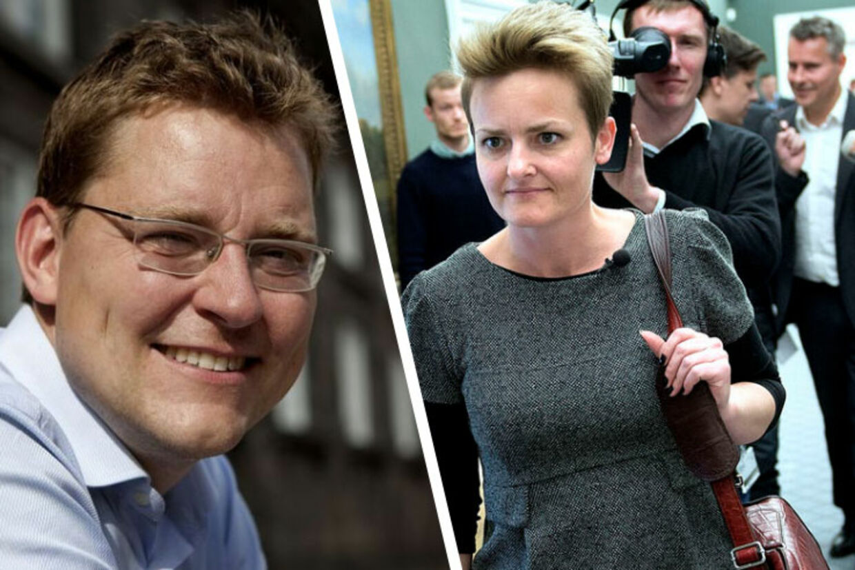Rasmus Helveg Petersen og Pernille Rosenkrantz-Theil