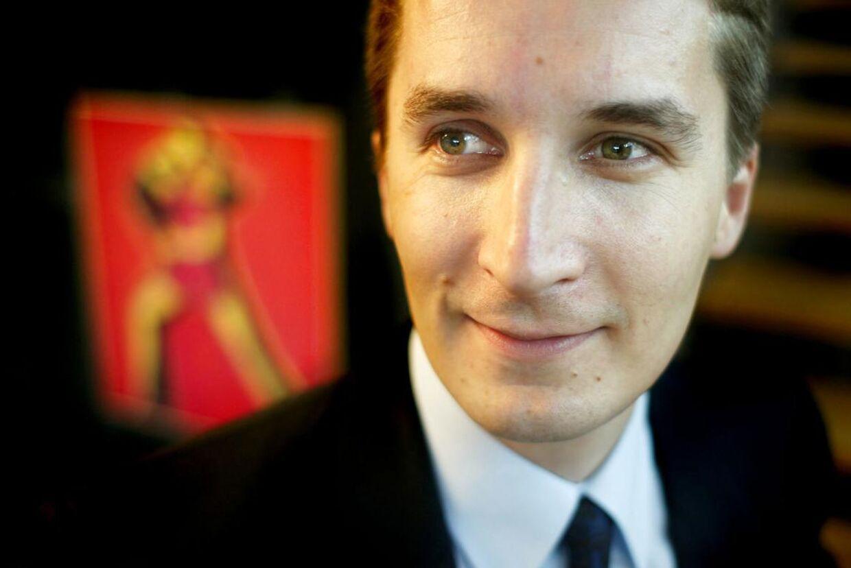 Christopher Arzrouni, debatredaktør på Børsen.