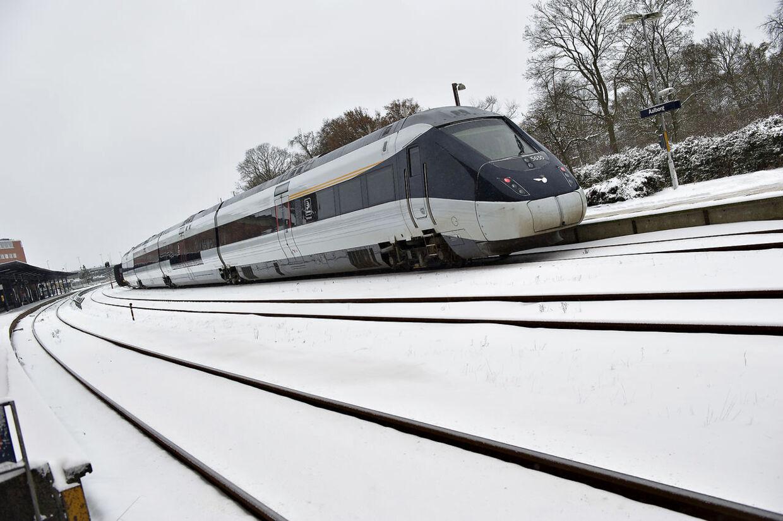 ARKIVFOTO 2012 af IC4-tog- - Se RB 8/12 2012 05.00. Skandaleramte IC4-tog får comeback på strækningen mellem København og Aarhus. Det vil gå godt, forsikrer chef. (Foto: Henning Bagger/Scanpix 2012)