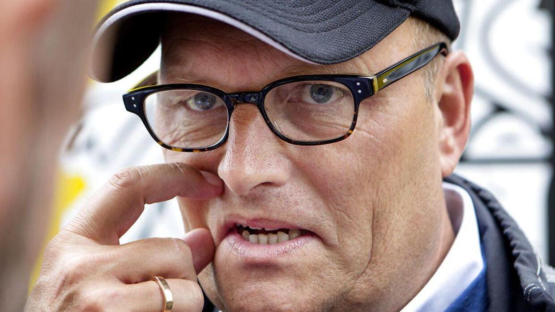 Bjarne Riis er på vej tilbage i cykelsporten - kan det virke til.