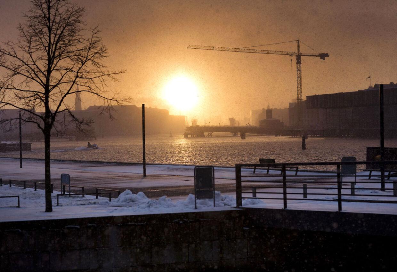Selv om søndagen byder på plusgrader, vender vinteren tilbage i begyndelsen af næste uge. Kulden ser ud til at sætte dagsordenen i ganske lang tid fremover, forudser DMI.