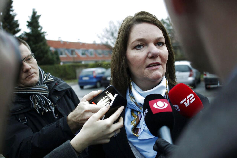 Skattesagskommissionen afhørte onsdag den tidligere leder af Venstres pressetjeneste Søs Marie Serup, der her ankommer til afhøringen, om partiets indblanding i Helle Thorning-Schmidts skattesag.