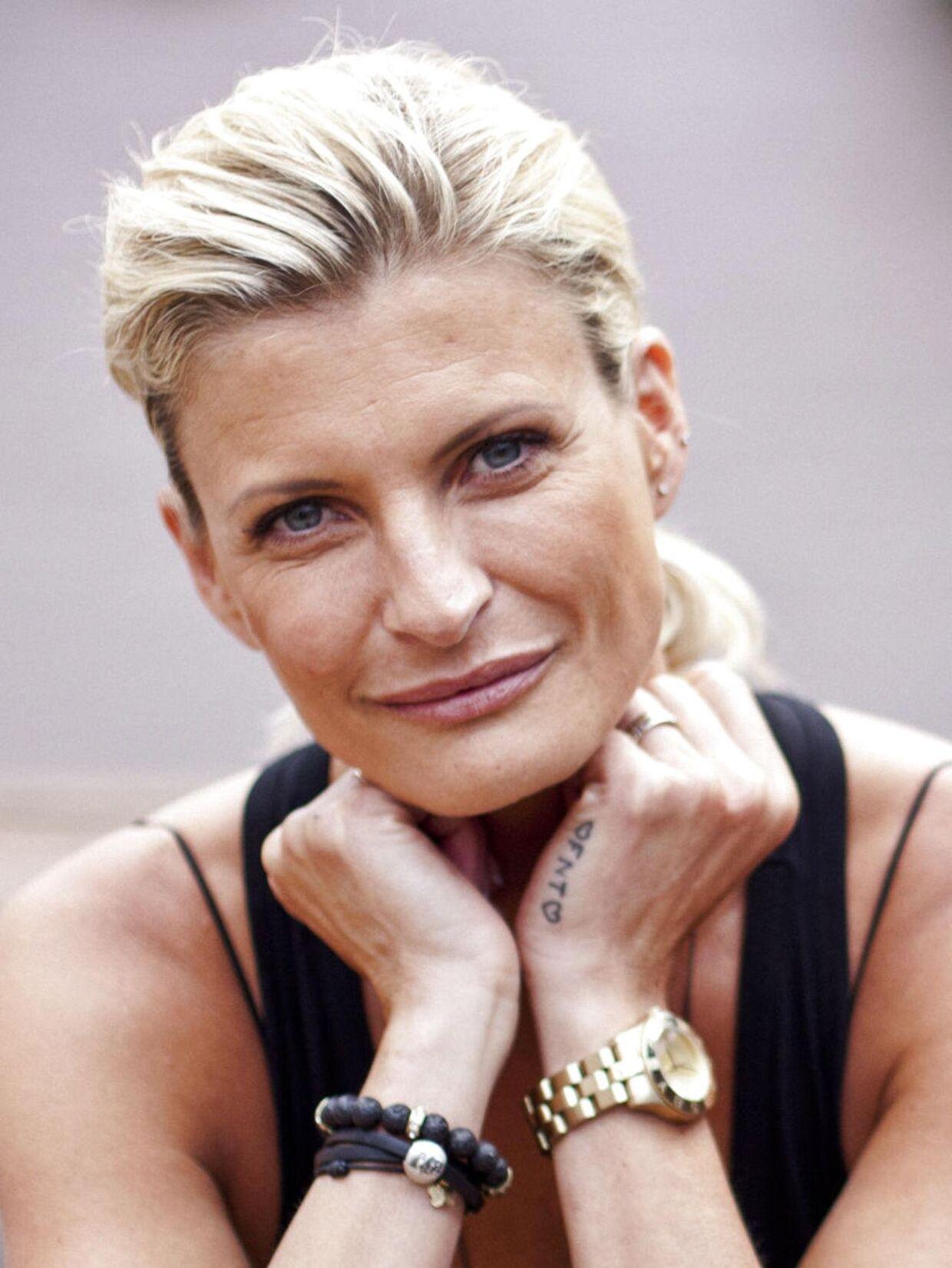 Mai-Britt Vingsøe var på forsiden af M! i 1999.