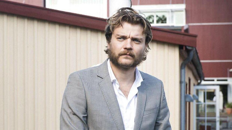 Portræt af skuespiller Pilou Asbæk taget ved Nordisk Film i Valby. Pilou fortæller, at han er færdig med dansk film i det næste lange stykke tid.