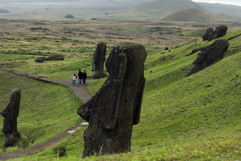 De mystiske Moai-statuer på Påskeøen i Chile er en del af den dyre rejsepakke, du nu kan få hos National Geographic.