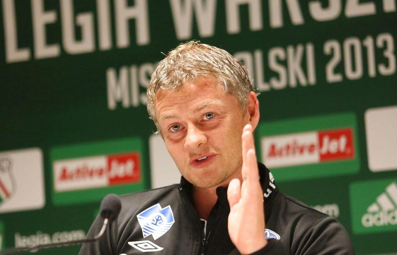 Ole Gunnar Solskjær er på vej til England. Han forventes at blive ny manager for Andreas Cornelius i Cardiff.