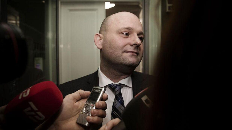 De Konservatives formand Søren Pape Poulsen er i vælten for tiden. (Foto: Jens Astrup)