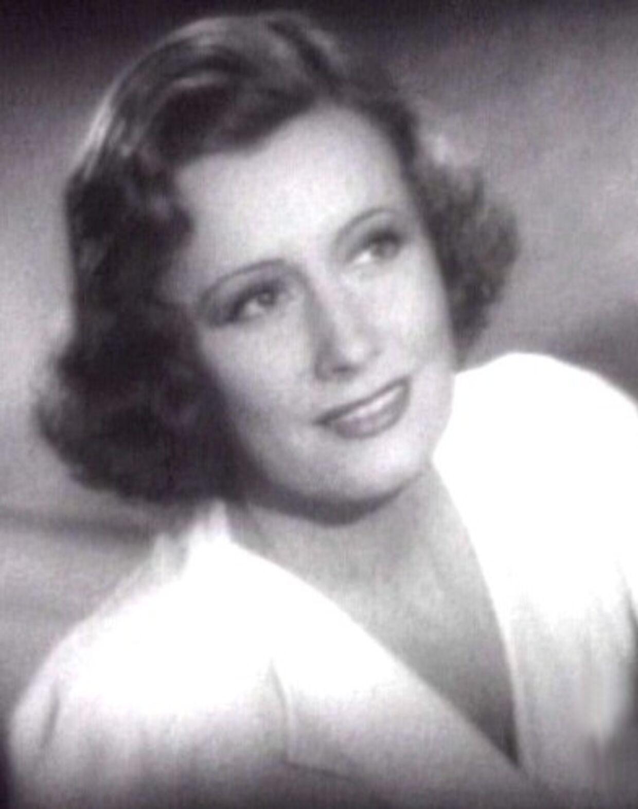 Irene Dunne i filmen 'Love Affair' fra 1939, som hun blev nomineret til en Oscar for. Det var den ene af hendes i alt fem Oscar-nomineringer.