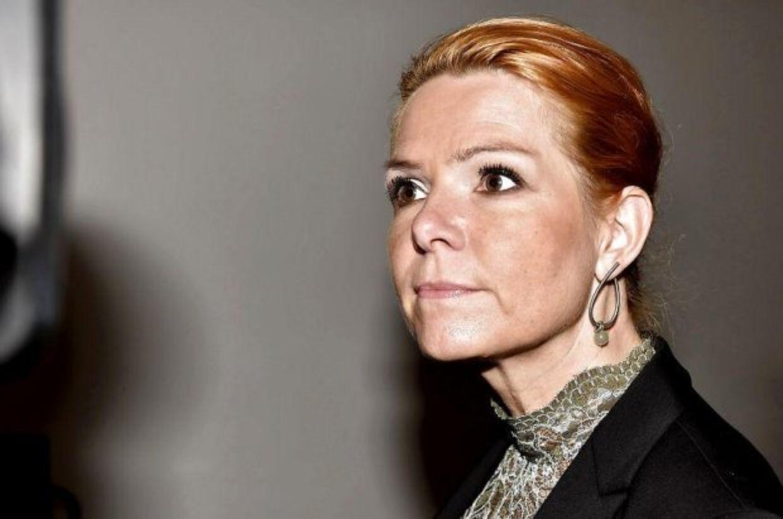 Her ses Inger Støjberg (V)